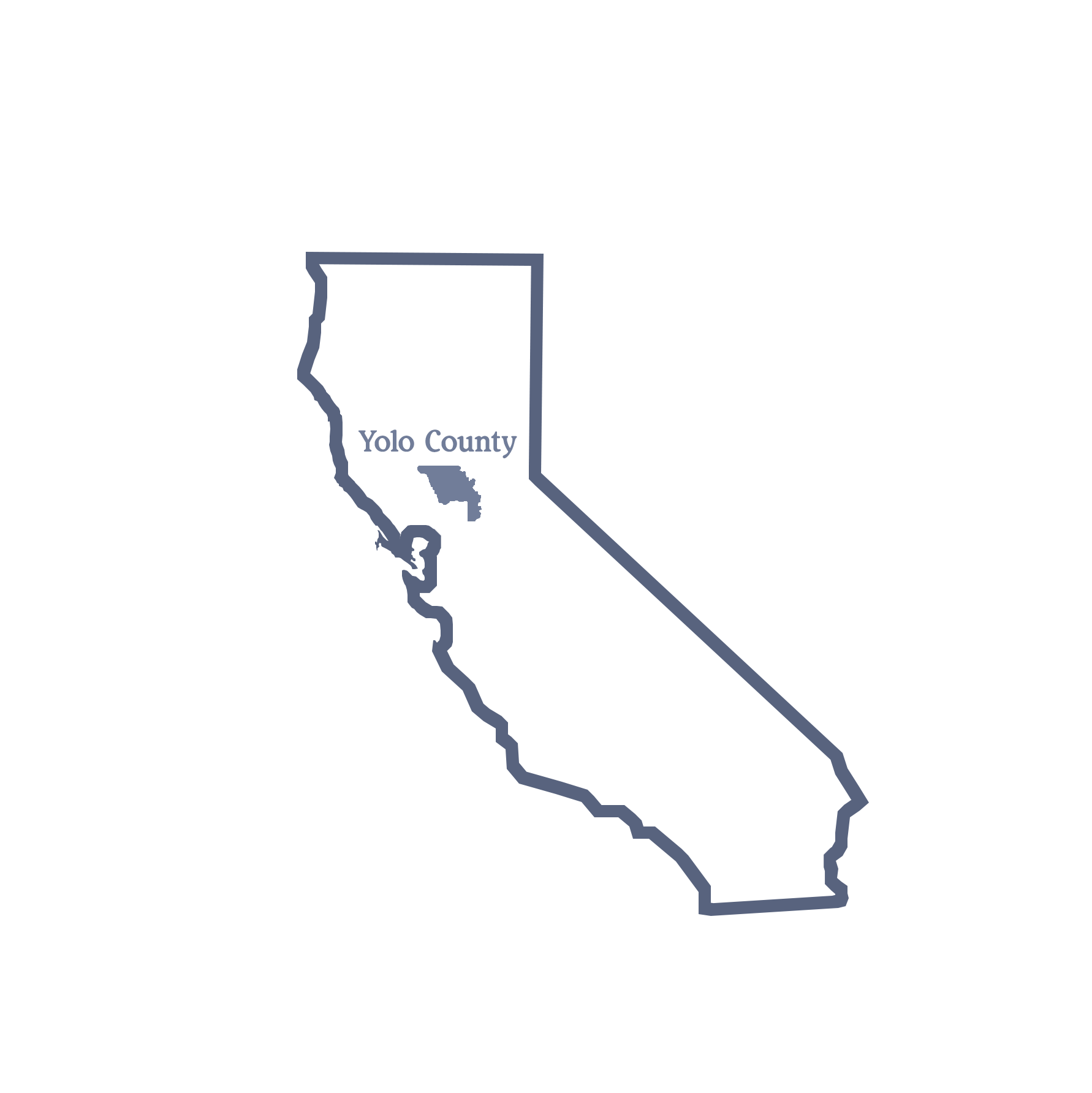 location of Yolo County